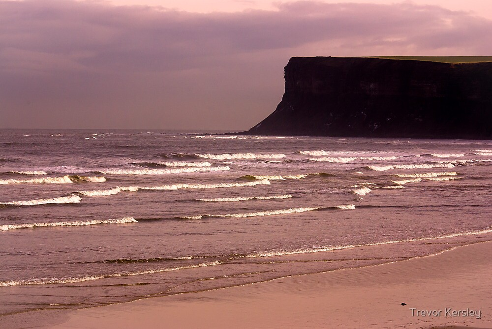 View to Saltburn Scar by Trevor Kersley