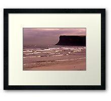 View to Saltburn Scar Framed Print