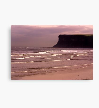 View to Saltburn Scar Canvas Print