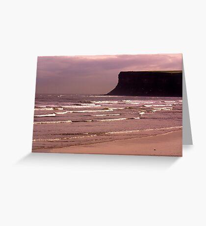View to Saltburn Scar Greeting Card