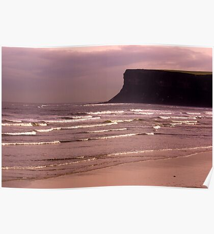 View to Saltburn Scar Poster