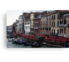 Evening on The Grand Canal - Venice Canvas Print