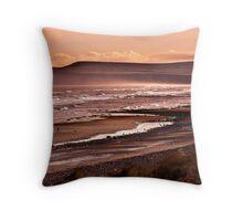 Saltburn Bay Throw Pillow
