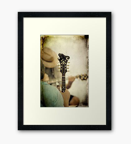 At the Jam Framed Print