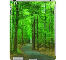 Green Trees - Impressions of Summer Forests iPad Case/Skin