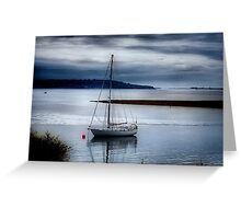 Shimmering Sea Greeting Card
