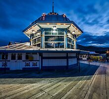 Night Time  At The Peir  by Darren Wilkes