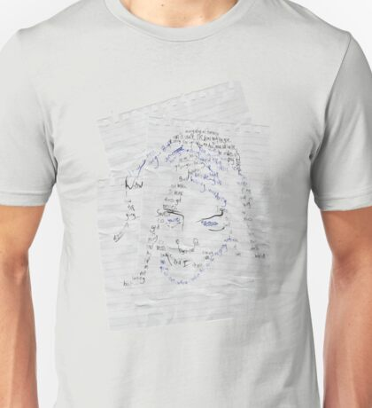 Ramblings on a Notebook Unisex T-Shirt