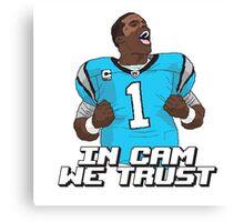 In Cam We Trust - 16 bit Edition Canvas Print