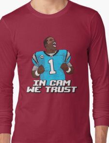 In Cam We Trust - 16 bit Edition Long Sleeve T-Shirt
