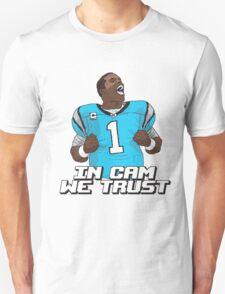 In Cam We Trust - 16 bit Edition Unisex T-Shirt