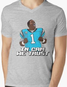 In Cam We Trust - 16 bit Edition Mens V-Neck T-Shirt
