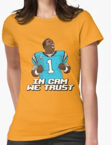 In Cam We Trust - 16 bit Edition Womens Fitted T-Shirt