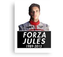 Forza Jules 1989 - 2015 (Jules Bianchi) Metal Print