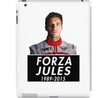 Forza Jules 1989 - 2015 (Jules Bianchi) iPad Case/Skin