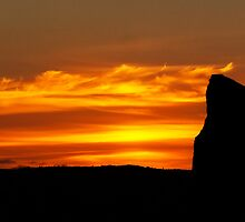 Standing Stone Orkney by Panalot