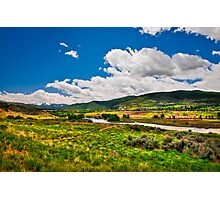 Scenic Valley Photographic Print