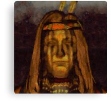 Medicine Man by Sarah Kirk Canvas Print