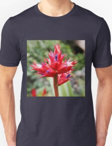 Red Tropical Plant Unisex T-Shirt