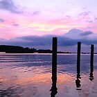 Sunset on the Eastern Shore by chipster