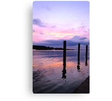Sunset on the Eastern Shore Canvas Print