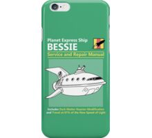 Bessie Service and Repair Manual iPhone Case/Skin