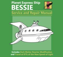 Bessie Service and Repair Manual Kids Tee
