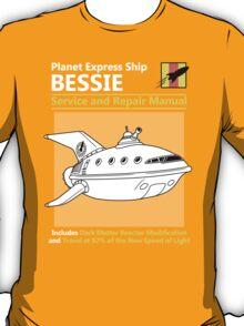Bessie Service and Repair Manual T-Shirt