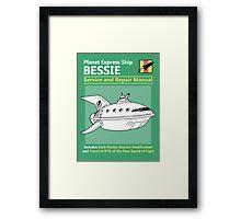 Bessie Service and Repair Manual Framed Print