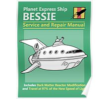 Bessie Service and Repair Manual Poster