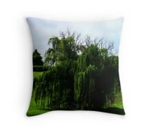 She weeps in the sun Throw Pillow