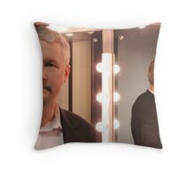 In the green room Throw Pillow