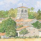St Germain de Montbron, France by ian osborne