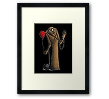 Would you like a Balloon? Framed Print