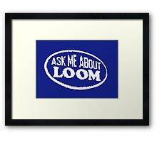 Monkey Island - Ask me about Loom Framed Print