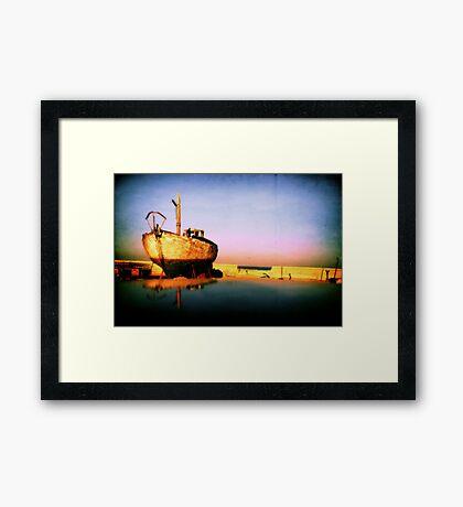 SEA MASTER Framed Print