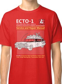 ECTO-1 Service and Repair Manual Classic T-Shirt