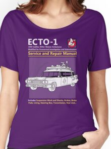 ECTO-1 Service and Repair Manual Women's Relaxed Fit T-Shirt