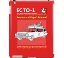 ECTO-1 Service and Repair Manual iPad Case/Skin