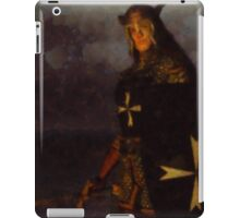 Knight King by Sarah Kirk iPad Case/Skin