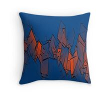 EMBERS TO ASHES Throw Pillow