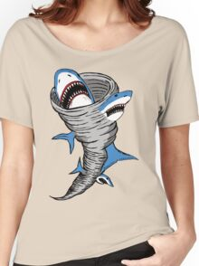 Shark Tornado Women's Relaxed Fit T-Shirt