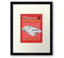 Thundertank Service and Repair Manual Framed Print