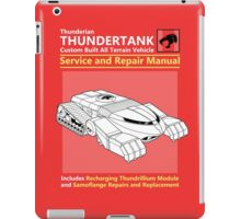 Thundertank Service and Repair Manual iPad Case/Skin