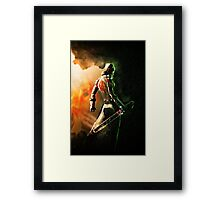 Wolf Of Anarchy Framed Print