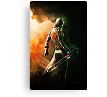 Wolf Of Anarchy Canvas Print