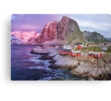 Reine's Changing of the Seasons Canvas Print