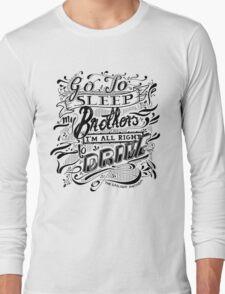 Drive - The Gaslight Anthem Long Sleeve T-Shirt