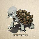 Man Tortoise by Chris Harrendence