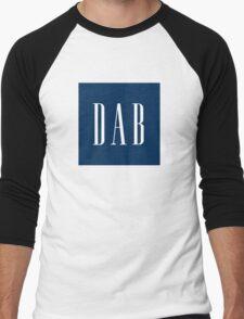 Dab Gap Logo  Men's Baseball ¾ T-Shirt